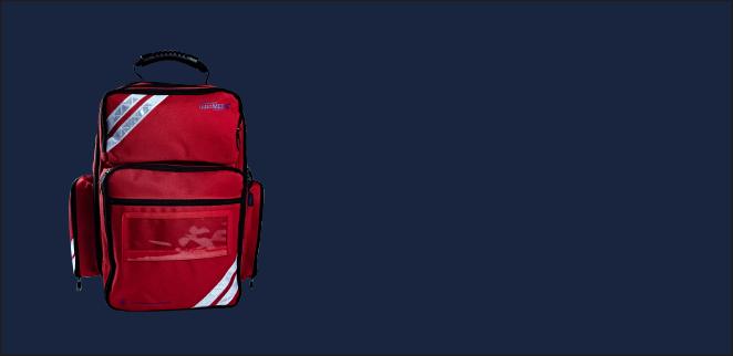 Erste-Hilfe-Rucksack ultraRESCUE LITE mit Sportfüllung